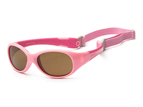 First Steps Holland BV KOOLSUN- Flex, Baby Sonnnbrille in Pin