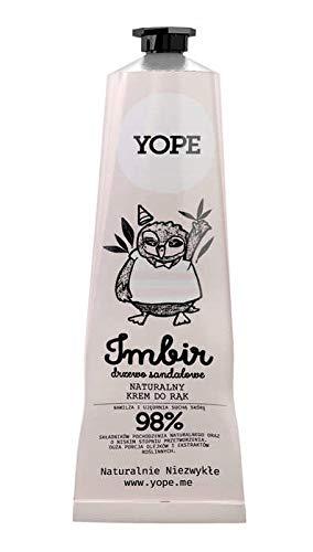 Yope Hand Cream Ginger & Sandalwood Tree Handcreme, 100 ml