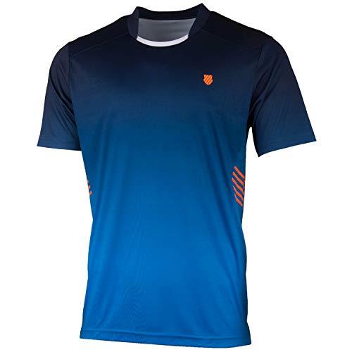 K-Swiss KS TAC Hypercourt Express Crew Camiseta de Tenis,...