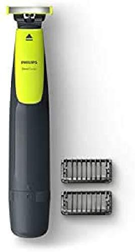 Philips OneBlade QP2510/10 Mojado y seco Negro, Amarillo depiladora para la barba - Depiladoras para la barba (Negro, Amarillo, Batería, 30 min, Integrado, Níquel-metal hidruro (NiMH), 8 h)