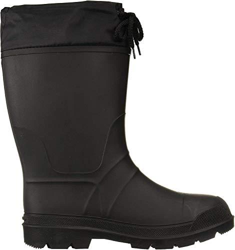 Kamik Men's Hunter Snow Boot, Black/Black Sole, 9 M US