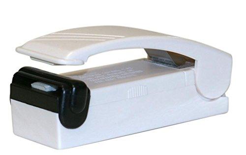 Culinario Handy Sealer mit Magnet - verschweißt Plastiktüten zuverlässig, bewahrt Frische, Aroma und Geschmack