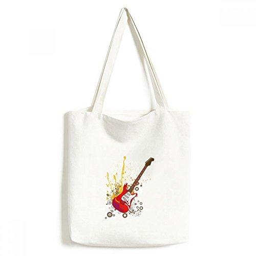 DIYthinker Guitarra eléctrica de la música de Jazz Cultura Ambiental Lavable Asas...