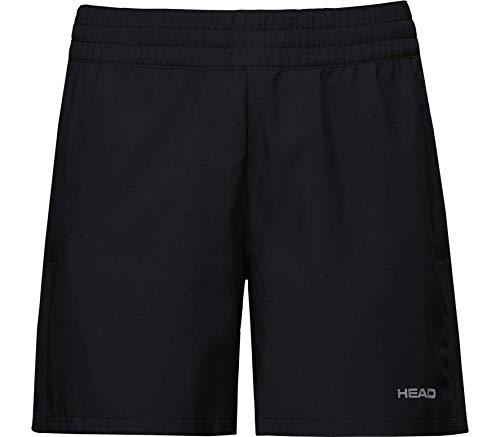 HEAD Damen, Club Shorts Oberbekleidung, schwarz, L