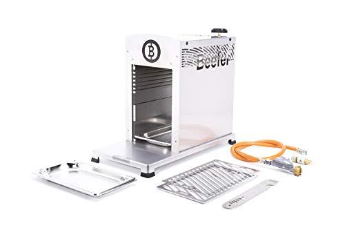 Beefer Original One Pro | der echte 800 Grad Premium Oberhitze Gasgrill | Edelstahl, Hochtemperatur | Der Hochleistungsgrill für das perfekte Steak mit gewerblicher Zulassung