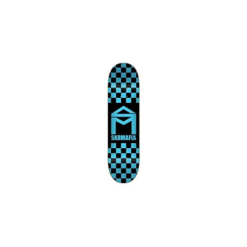 SK8 Mafia Tavola House Logo Checker Blue 8.3