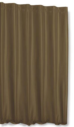 Huis en decoratief thermogordijn Alaska ondoorzichtig extra breed gordijn Polar Fleece overgordijn plooiband gordijn B/H 245x245 cm #1407 modern 245x245 Taupe Hell