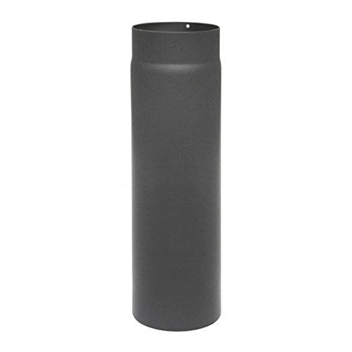 raik SH003-130-gg Rauchrohr/Ofenrohr 130mm - 500mm gussgrau