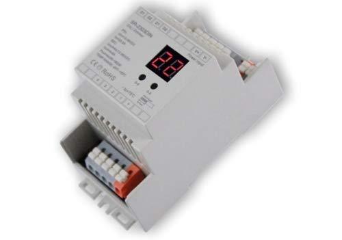 YULED SR-2303DIN DALI LED Controller Hutschiene 4-Kanal 4x5A mx. 20A Adresse einstellbar 12-36V R-G-B-W für LED Streifen