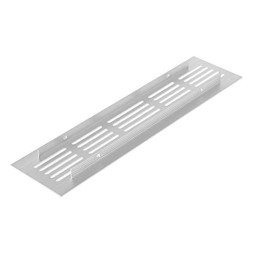 Rejillas de ventilación de 15 cm, 20 cm, 25 cm, 30 cm, 40 cm, 50 cm, ventilación de aire de aleación de aluminio, placa perforada Rejilla de ventilación Rejilla de ventilación de aire (Color: 15)