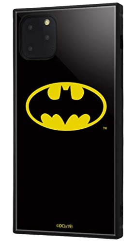 イングレム iPhone 11 Pro Max ケース, カバー バットマン 耐衝撃 ストラップ ホール付き ハイブリッドケース KAKU/バットマンロゴ IQ-WP22K3TB/BM001