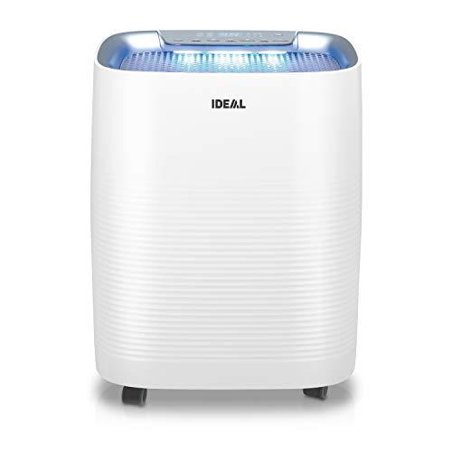 IDEAL (2in1) Luftreiniger und Luftbefeuchter AP35H mit HEPA Filter und Geruchsfilter für saubere und optimal befeuchtete Raumluft bis 45m² gegen Feinstaub, Pollen, Allergene, Bakterien - für zuhause