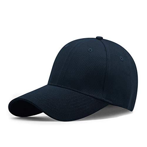 Sombrero de Paja Informal Grupo Comprar Gorra de béisbol de algodón Personalizada Gorra Empresa Personalizada Actividades al Aire Libre Viaje Sol Sombrero Impresión Bordado (Color : Dark Blue)