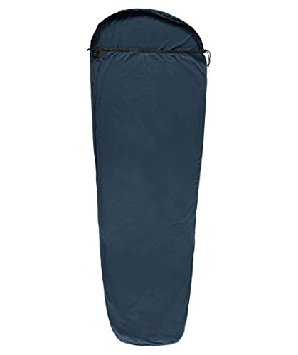 Meru Mumienschlafsack Microfleece MummyLiner blau (296) 000