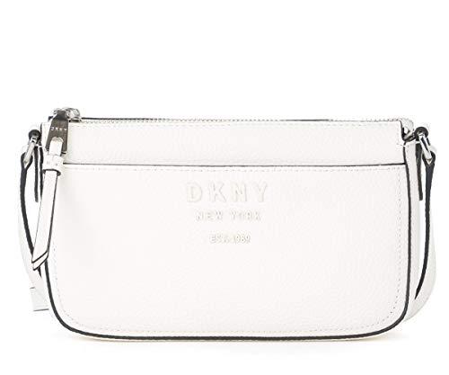 DKNY Borsa a tracolla Noho mini in pelle bianca