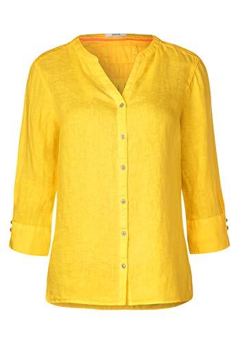 Cecil Damen 341886 Bluse, Sunny Yellow, Small