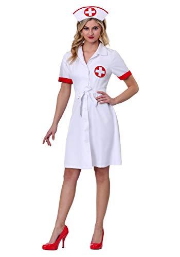 Women's Stitch Me Up Nurse Costume - L