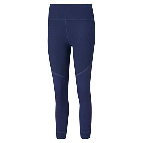 PUMA Damen Studio Rib High Waist 7/8 Tigh Leggings, Elektro Blue, L