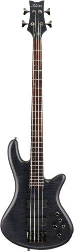 Schecter Stiletto Studio-4 Bass (4 String, See-Through Black Satin)