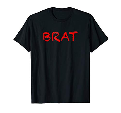 T-Shirt that says the Word - BRAT - on it | Clothing