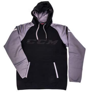 CCM Hoodie Pullover GoDark Black/Dark Grey SR, L