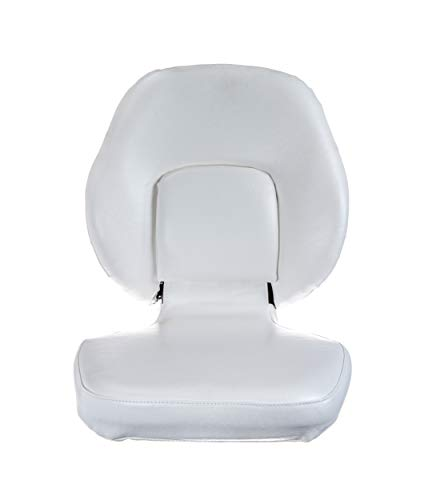 Attwood 98388-2 Classic Boat Seat - White