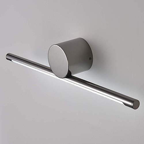 WYZQ Badezimmerspiegelleuchten LED, Schwarze Spiegelfrontleuchte mit Acryl-Lampenschirm, 4000K Neutralweiß, Bildleuchte Moderne Spiegelschrankleuchten für Hotelrestaurant, 58cm 11W, Badezimmerbel