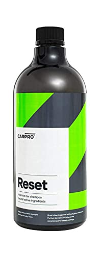 CARPRO Reset - Intensive Car Shampoo 1 Liter, Perfect Partner to Nanotechnology Bases Sealants and Coatings, P-Neutral Shampoo