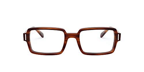 [レイバン] メガネ 0RX5473 STRIPED HAVANA 52