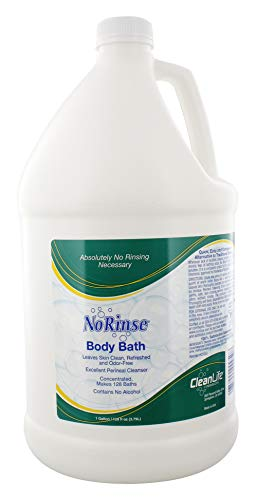 No-Rinse Body Bath, 1 Gallon - Leaves Skin Clean, Refreshed and Odor-Free