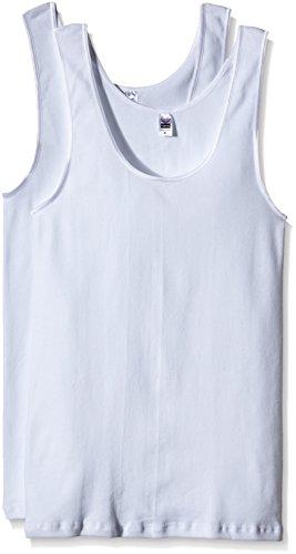 Trigema Damen 5854032 Unterhemd, Weiß (weiß 001), 44 (Herstellergröße: L) (2er Pack)
