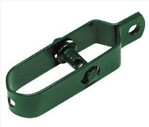 ITALFROM Confezione Kit 6 Pezzi Tendifilo Plastificato Verde per Recinzioni in Rete Metallica cod. 5840