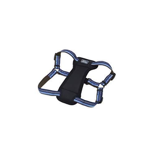 Coastal - K-9 Explorer - Reflective Adjustable Padded Dog Harness, Sapphire, 1