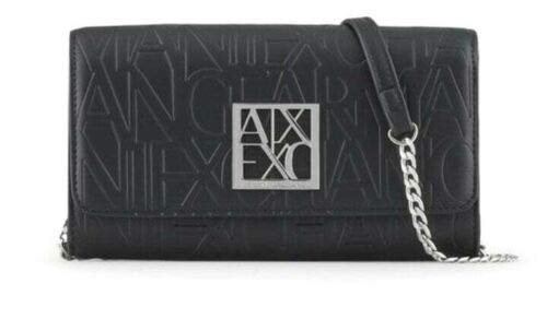 Armani Exchange All Over Wallet On Chain Bag - Bolsa para mujer,...