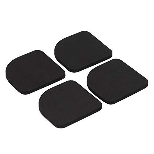 4 pièces tampons de rondelle absorbant les chocs tampon anti-vibration universel rondelle antidérapante tapis de vibration pieds de réduction du bruit pour sèche-linge réfrigérateur tapis roulant