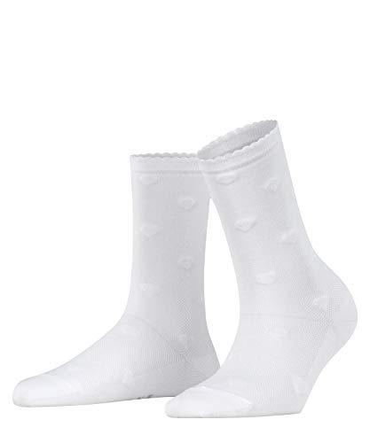FALKE Damen Velour Beat W SO Socken, Weiß (White 2000), 35-38 (UK 2.5-5 Ι US 5-7.5)