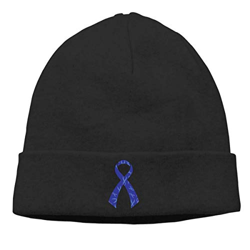 Lawenp Gorro de punto para mujeres y hombres concientización sobre el cáncer de colon