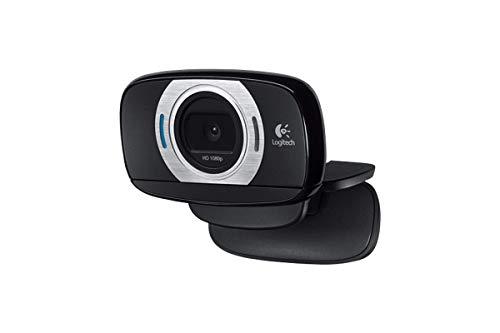 Logitech C615 Webcam 8 MP 1920 x 1080 Pixel USB 2.0 Schwarz - Webcams (8 MP, 1920 x 1080 Pixel, 1080p,720p, 1920 x 1080 Pixel, 8 MP, Auto)