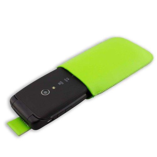 caseroxx Slide-Etui für Doro Primo 405 / Primo 406, Tasche (Slide-Etui in grün)
