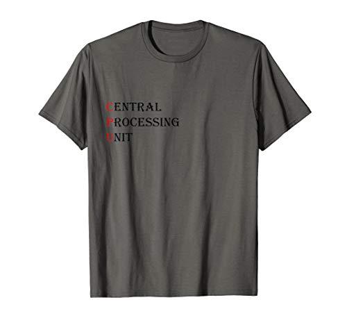 Technikliebhaber Style CPU Symbol,Geschenk für Damen &Herren T-Shirt