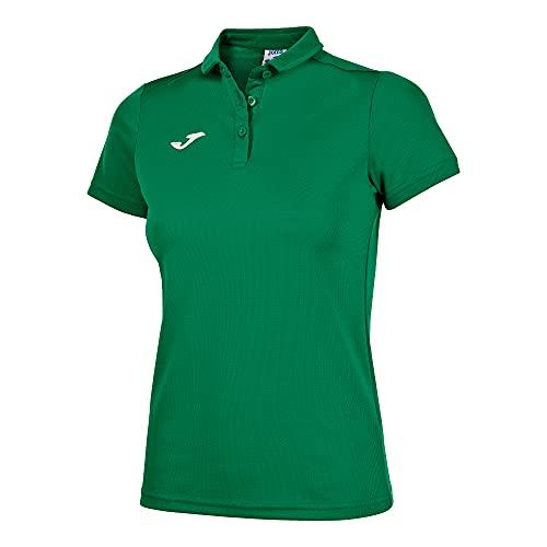 Joma 900247 Camiseta Polo, Mujer, Verde, L