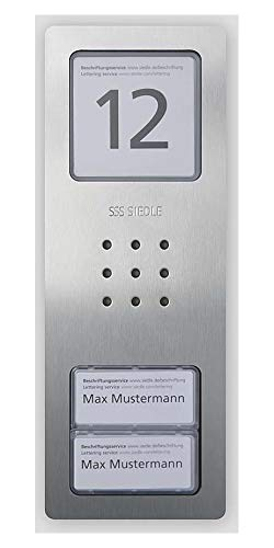 Siedle&Söhne Audio-Türstation CA 850-2 E Siedle Compact In-Home-Bus Türstation für Türkommunikation 4056138008858