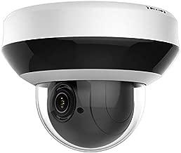 Anpviz 4.0MP POE IP PTZ Dome Camera,4X Optical, 16X Digital Zoom, H.265+ Outdoor Mini Security Camera with Audio, Alarm, SD Card Slot