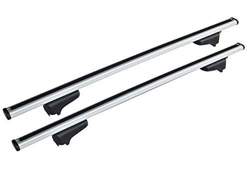 EUFAB 12023 Relingträger für Fahrzeuge mit geschlossener Reling, Silver