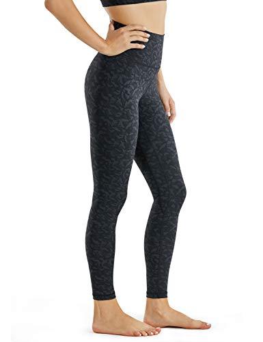 CRZ YOGA Women's Naked Feeling I 7/8 High Waisted Yoga Pants Workout Leggings Camo - 25 Inches Leopard Multi 2 Medium