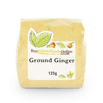 Buy New arrival Whole Foods Ground Ginger 125g Outlet SALE
