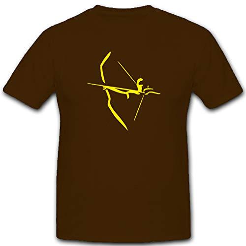Tiro con Arco Deportes tiro con arco Sagitario Flecha arco Sport Tipo de deporte–Camiseta # 5554
