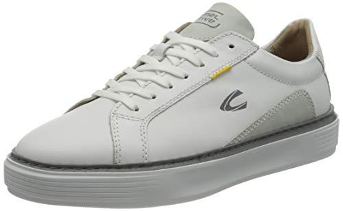 camel active Herren Avon Sneaker, White, 47 EU