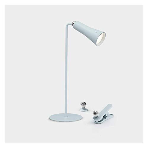 flexo led Lámpara de protección de ojos Lámpara de escritorio de control de control Lámpara de escritorio LED con 3 niveles de atenuación Multi Function Cargador Enchufe la lámpara de mesa de doble pr