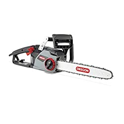 Powerful performance: 2400 W electric chainsaw with integrated chain brake; Ideal saw for professionals and homeowners who cut wood in harsh environments DuraCut saw chain: Cuts 3 times longer than standard chain in abrasive environments; 14.7 m/sec ...